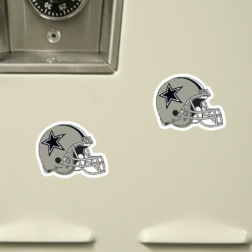 NFL Dallas Cowboys 6-Pack Football Helmet Magnet Sheet