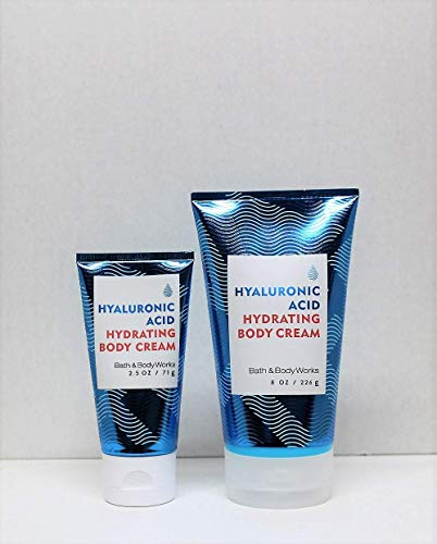 Bath and Body Works One for home & One for Travel Water Hyaluronic Acid Hydrating Body Cream