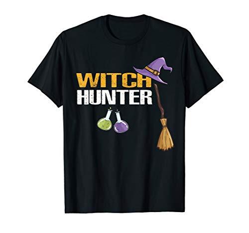 Witch Hunter Halloween Costume (Witch Hunter Cute Halloween Costume Gift tee)
