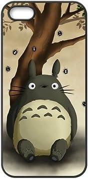 Coque iPhone 5S,Coque silicone souple iPhone 5/5S-My neighbor Totoro Design iPhone 5S Coque TPU Coque Case Cover Cas arrière