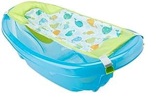 Summer Infant Sparkle N' Splash Newborn To Toddler Bath Tub, Blue