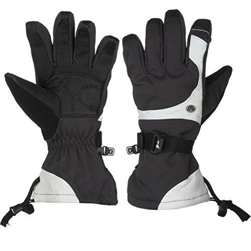 - Gordini Tactic Glove - Women's Gun Metal/White, L