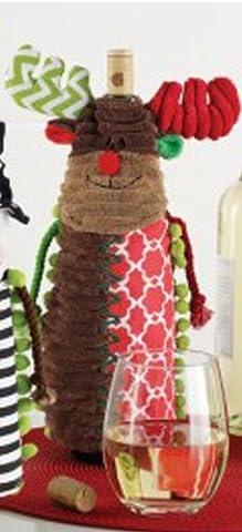 Mud Pie Holiday Wine Bottle Covers (Reindeer) - South Beach Wine