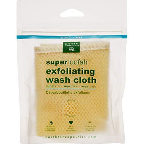 Earth Therapeutics Loofah, Super, Exfoliating, Wash Cloth