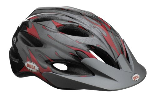 Bell Buzz Child Helmet, Child cycle helmet Children black/red by Bell (Image #1)