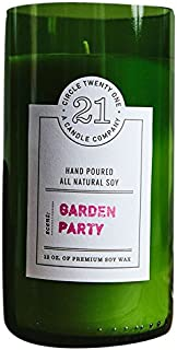 product image for Circle 21 Candles Garden Party Scented Soy Candle, Green