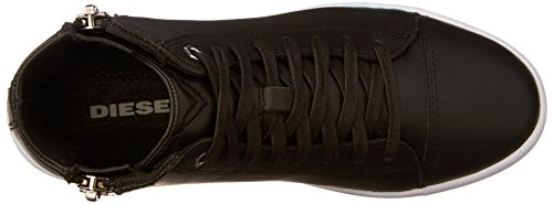 nentish S W Diesel Women's round Black Zip Fashion Sneaker Ittpxw