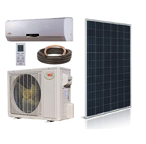 YMGI Ductless Mini Split Air Conditioner 1.5 Ton 18000 BTU up to 32 SEER Solar Assist with Heat Pump with 25 Ft Installation ()
