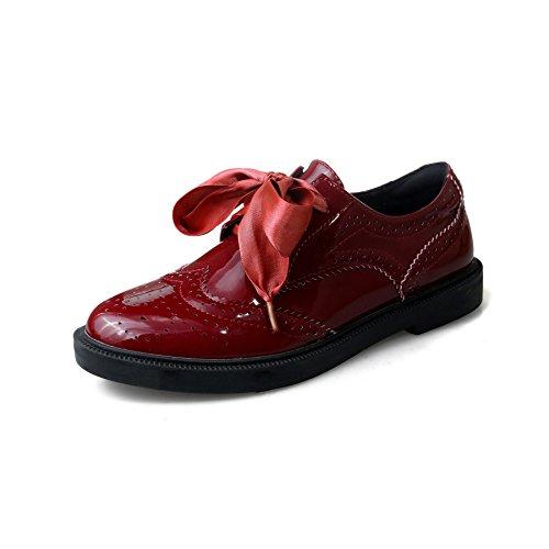 MEI piattaforma scarpe Red piatto nbsp;Donna fondo JuJube amp;S scarpe di 0Tq0rSU