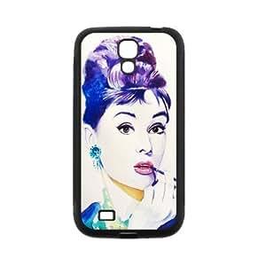 Custom Audrey Hepburn Back Cover Case for SamSung Galaxy S4 I9500 JNS4-317 WANGJING JINDA