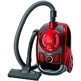 Black+Decker Aspirador de Pó Ciclônico de Alta Performance, Preto/Vermelho