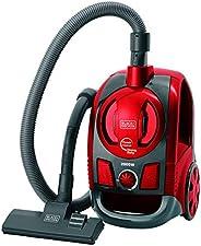 BLACK+DECKER Aspirador de Pó Ciclônico de Alta Performance Preto e Vermelho AP4000-B2