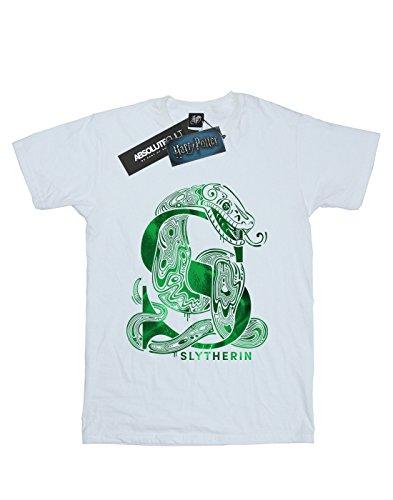 Potter Slytherin blanca Snake Camiseta Harry Boy 6vqx11z