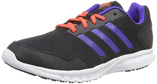 adidas Runfastic Jungen Sneakers Schwarz (Core Black/Night Flash S15/Solar Red)