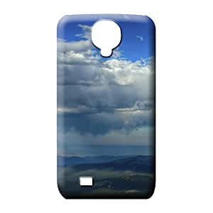 samsung galaxy s4 Hybrid Protection Protective Beautiful Piece Of Nature Cases phone skins sky blue air white cloud