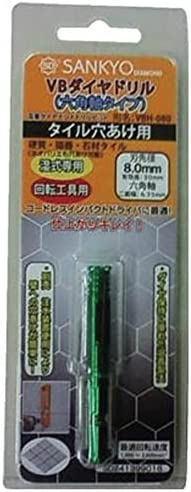 三京ダイヤモンド工業 VBダイヤドリル 六角軸 5【VBH-050】(3612082)