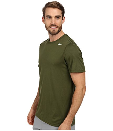 Nike Men 's Legend Dri-Fit Poly S/S CREW TOP