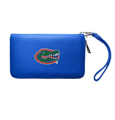 NCAA Florida Gators Zip Organizer Pebble Wallet ()