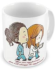 You are My Person – nyhet 325 ml högkvalitativ gåva dryckesmugg & presentförpackning set te kaffe för kontor arbete hem