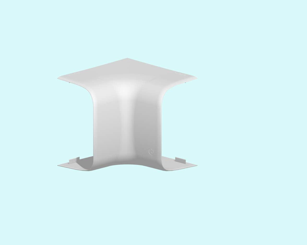 pour goulotte de climatisation 90 x 60 mm iboco 06822 blanc angle int/érieur