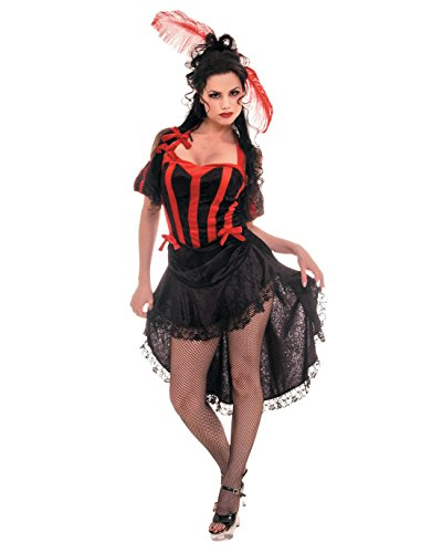 Black Red French Can Can Dancers Theatre Costumes Sizes: Small (Flash Dancer Costume Ideas)