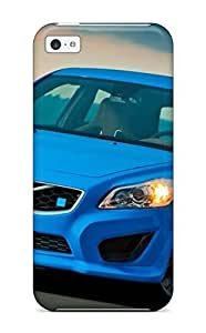 linJUN FENGAwesome 2011 Volvo C30 Polestar Concept Flip Case With Fashion Design For iphone 4/4s