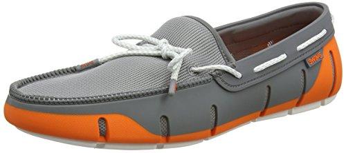Swims Stride Mocassini White Orange Lace Wte org Arancione 585 Grey Gry Flk Loafer Fleck Uomo aadqr
