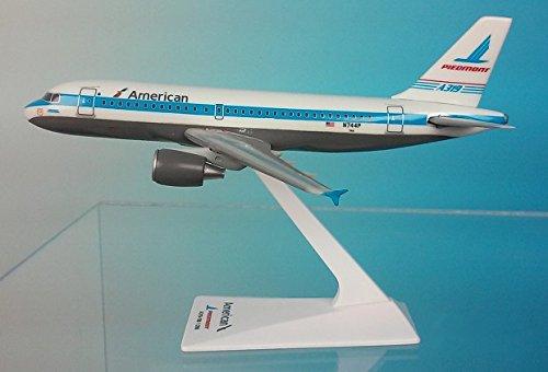 - Flight Miniatures American/Piedmont A319-100 1:200 Airplane Miniature Model Plastic Snap Fit Part# AAB-31900H-010