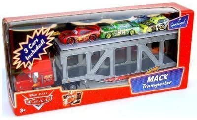 Disney / Pixar CARS Movie 1:55 Die Cast Figure 3-Pack Mack ...