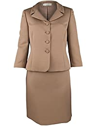 Amazon.com: Brown - Skirt Suits / Suit Sets: Clothing, Shoes & Jewelry