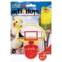 JW JW31092 Tablero Basketball Activitoy con Espejo para Ave