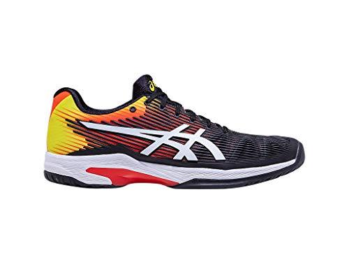 - ASICS Men's Solution Speed FF Tennis Shoes, 11M, KOI/White