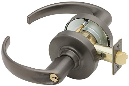(Schlage ND53PD SPA 613 C Keyway Series ND Grade 1 Cylindrical Lock, Entrance Function, C Keyway, Sparta Design, Oil Rubbed Bronze Finish)