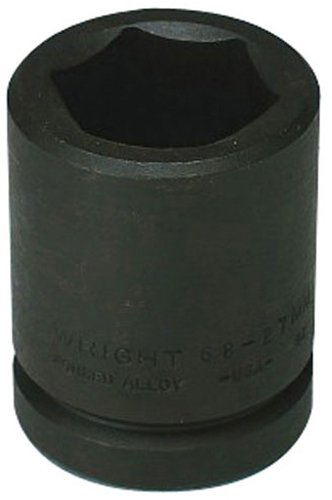 Wright Tool 86943 5-3//8-Inch Deep Impact Socket with 3-1//2-Inch Drive