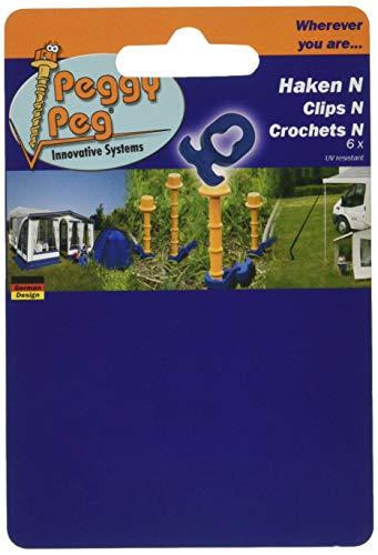 4131sR Peggy Peg PP07 Haken N 6er Set