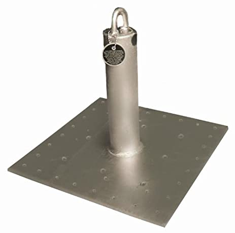 Guardian Fall Protection 00656 CB 18 CB Galvanized Roof Anchor, 18 Inch Tall