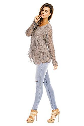 Fabio Fashion - Camisas - para mujer pardo