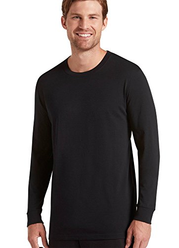Jockey Men's Sportswear Long Sleeve Signature Tee, Black, XL ()