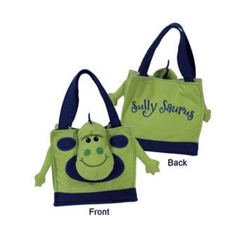 "Laid Back ""Sully Saurus"" Dinosaur"" Snuffle Tote Purse for Parties"