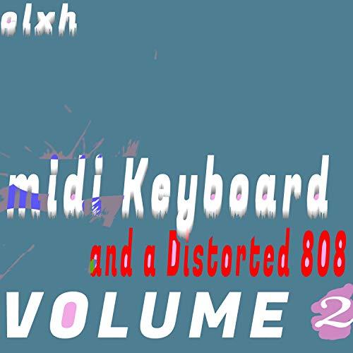 Midi Keyboard and Distorted 808,...