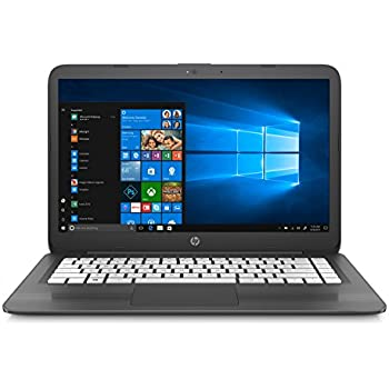 Amazon com: HP Stream 14 Laptop with Beats Audio (Natural Silver