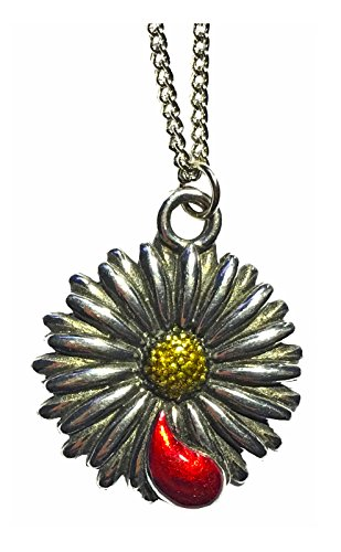 [The Walking Dead Blood Flower - Just Look At Flowers Necklace- Costume Accessory] (Daryl Dixon Costumes)