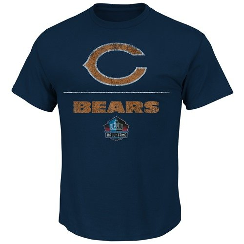 Dick Butkus Chicago Bears Majestic HOF Aggressive Speed T-Shirt - Navy 5378c69bc