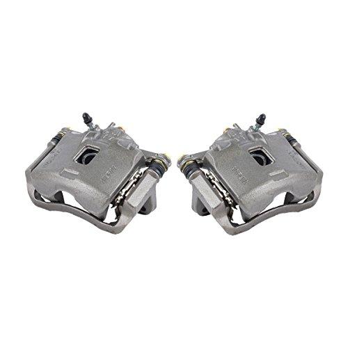 CKOE01054 [ 2 ] FRONT Premium Grade OE Semi-Loaded Caliper Assembly Pair Set - Acura Integra Brake Caliper