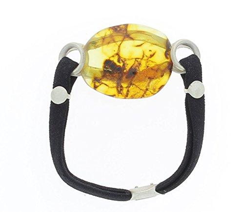 Bijoux Irina - Bracelet Irina en Argent & Ambre citron