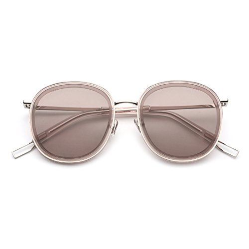 Gray Hombre De Sol Tea Gold Gafas Sol Color Lens Lens Neutral Frame de Frame Gafas Tea UV para Metal TLMY Frame Polarizadas wFqaIa