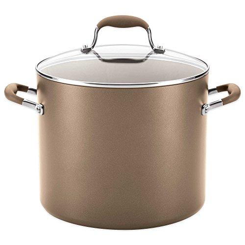 Anolon Stock Pot (Anolon Advanced Umber 12 qt. Covered Stock Pot)