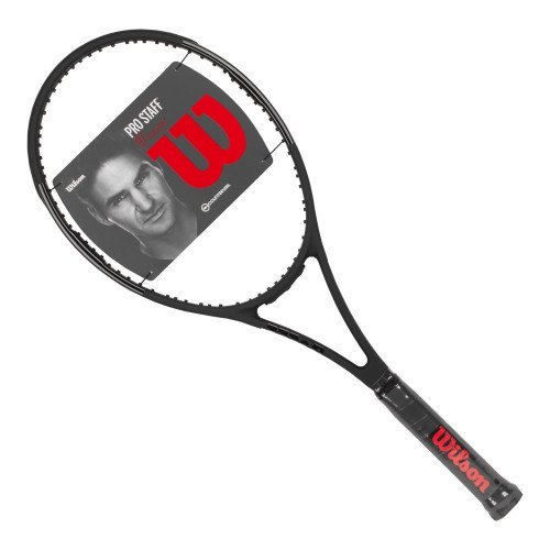 Wilson-Pro Staff 97 Countervail Black Tennis Racquet W/out Cover, 4-1/2 Inch