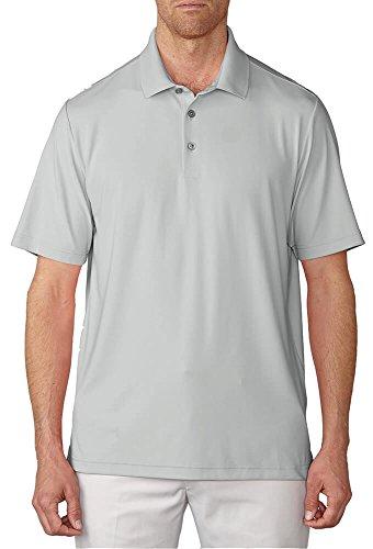 Ashworth Knit Shirt - Ashworth 2017 Men's Matte Interlock Solid Short Sleeve Polo Shirt (Pebble - L)