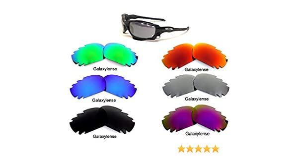Amazon.com  Galaxy Replacement Lenses for Oakley Jawbone 6 Pairs  Polarized 66ca4830ad